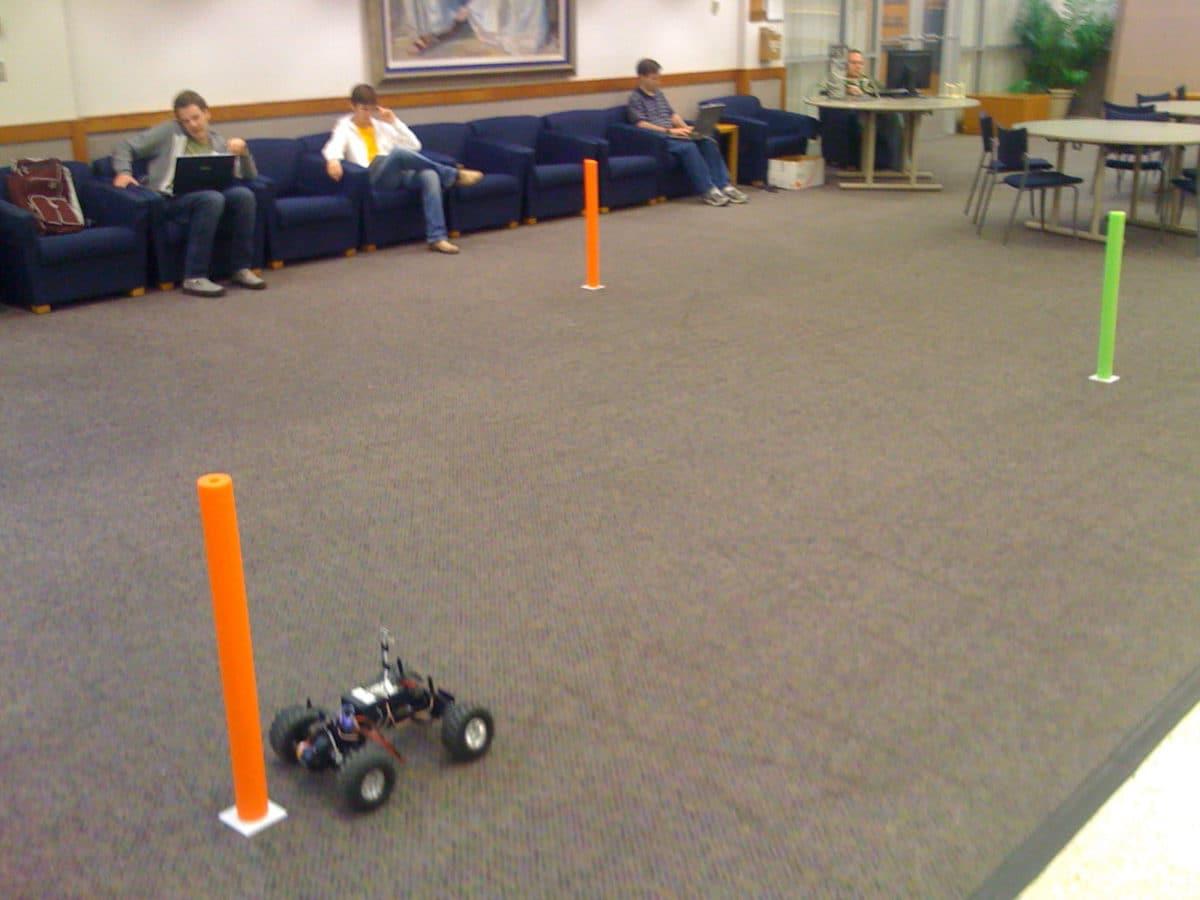 Race car Testing