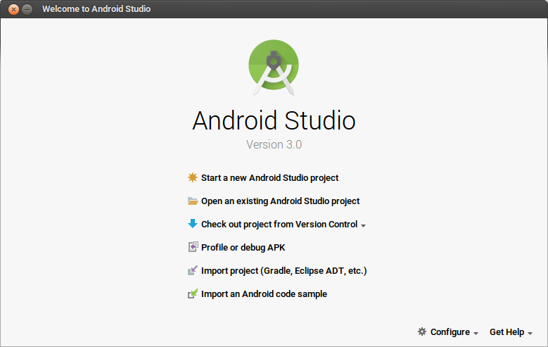 Welcome Project Android Studio