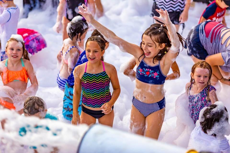 foam party for kids