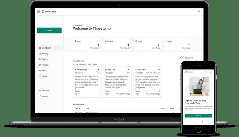 Timestamp App