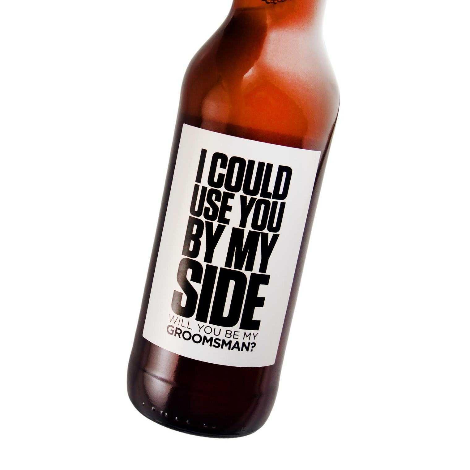 Groomsman Beer Gift