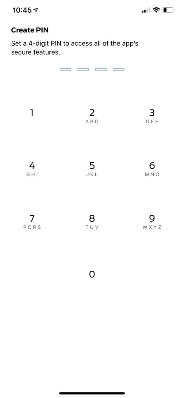 FordPass Pin Page