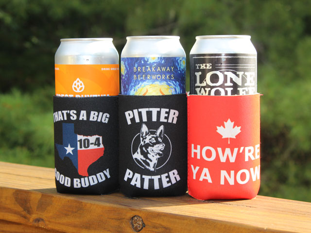 Letterkenny Beer Koozies to put your Puppers Beer in