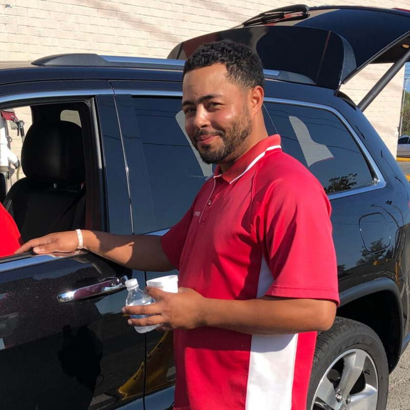 Martel Wallace of Sponge Brothers Car Wash
