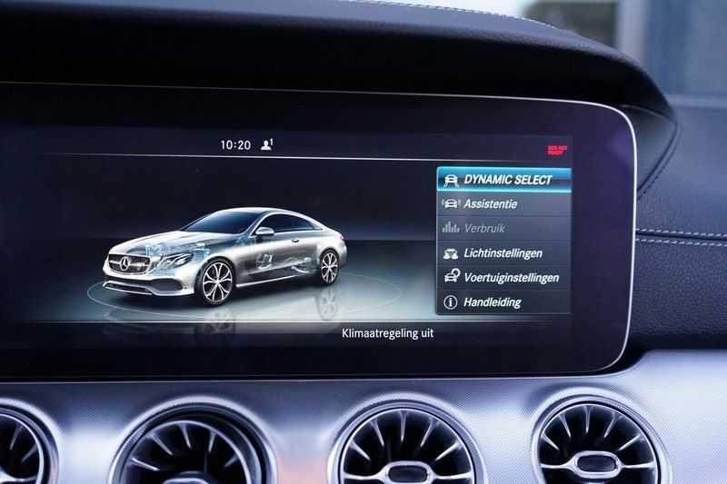 Mercedes-Benz E-Klasse Coupé 200 Premium Plus AMG, Pano, Burmester afbeelding 24