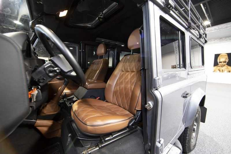 Land Rover Defender 2.4 TD 110 SW SE 7-zits Extreem compleet! afbeelding 17