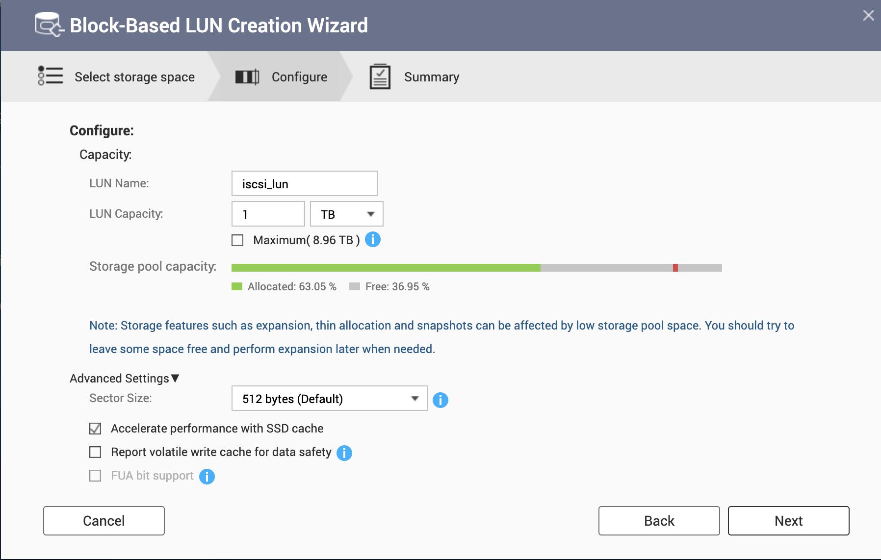Configure Qnap iSCSI as VMware Datastore - 8