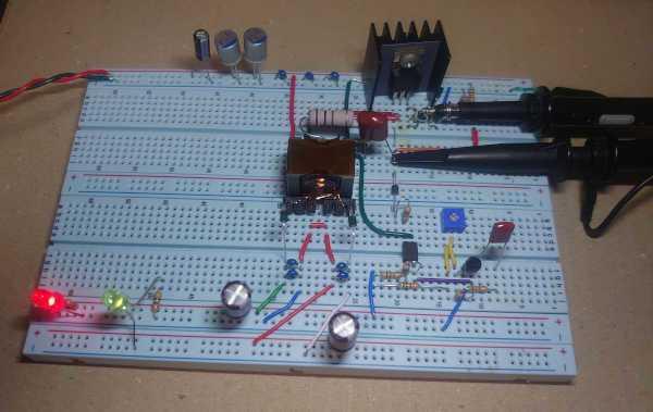 絶縁型DCDCコンバータを実験してみた cover image