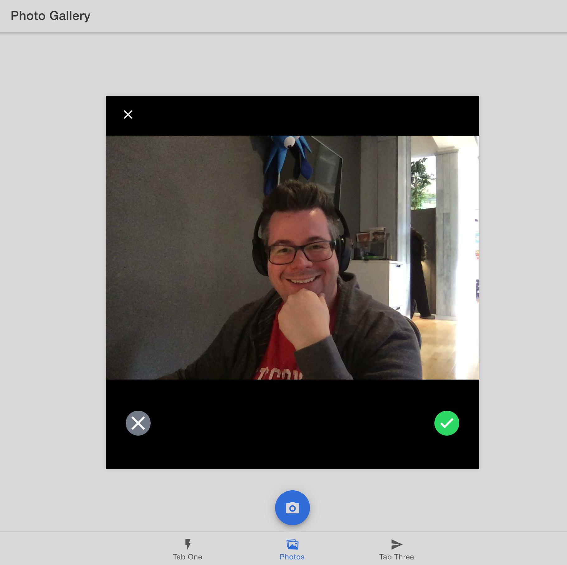 Camera API on the web
