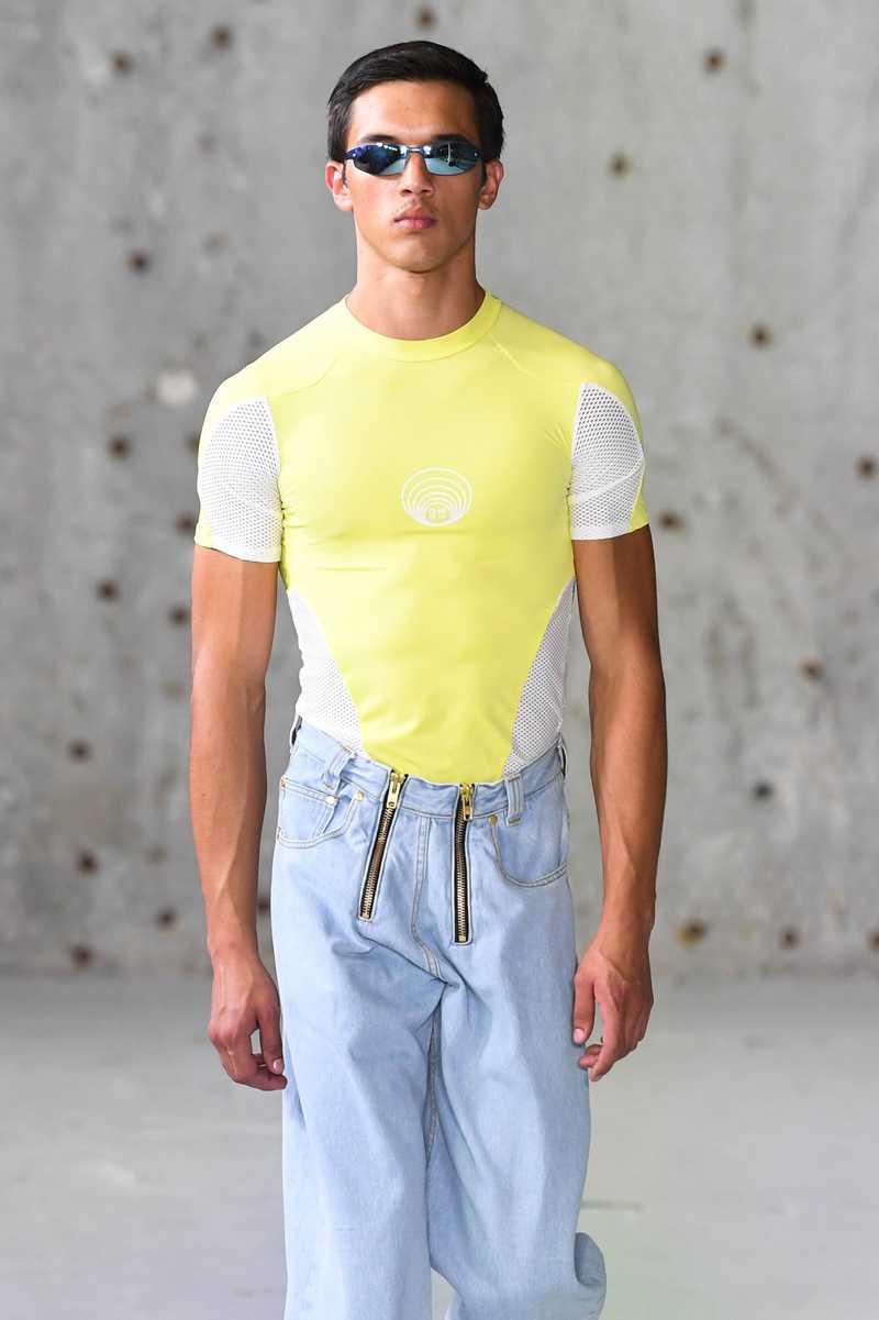 GmbH SS19 Eevan T-Shirt Yellow
