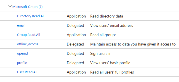 Azure add group membership claims