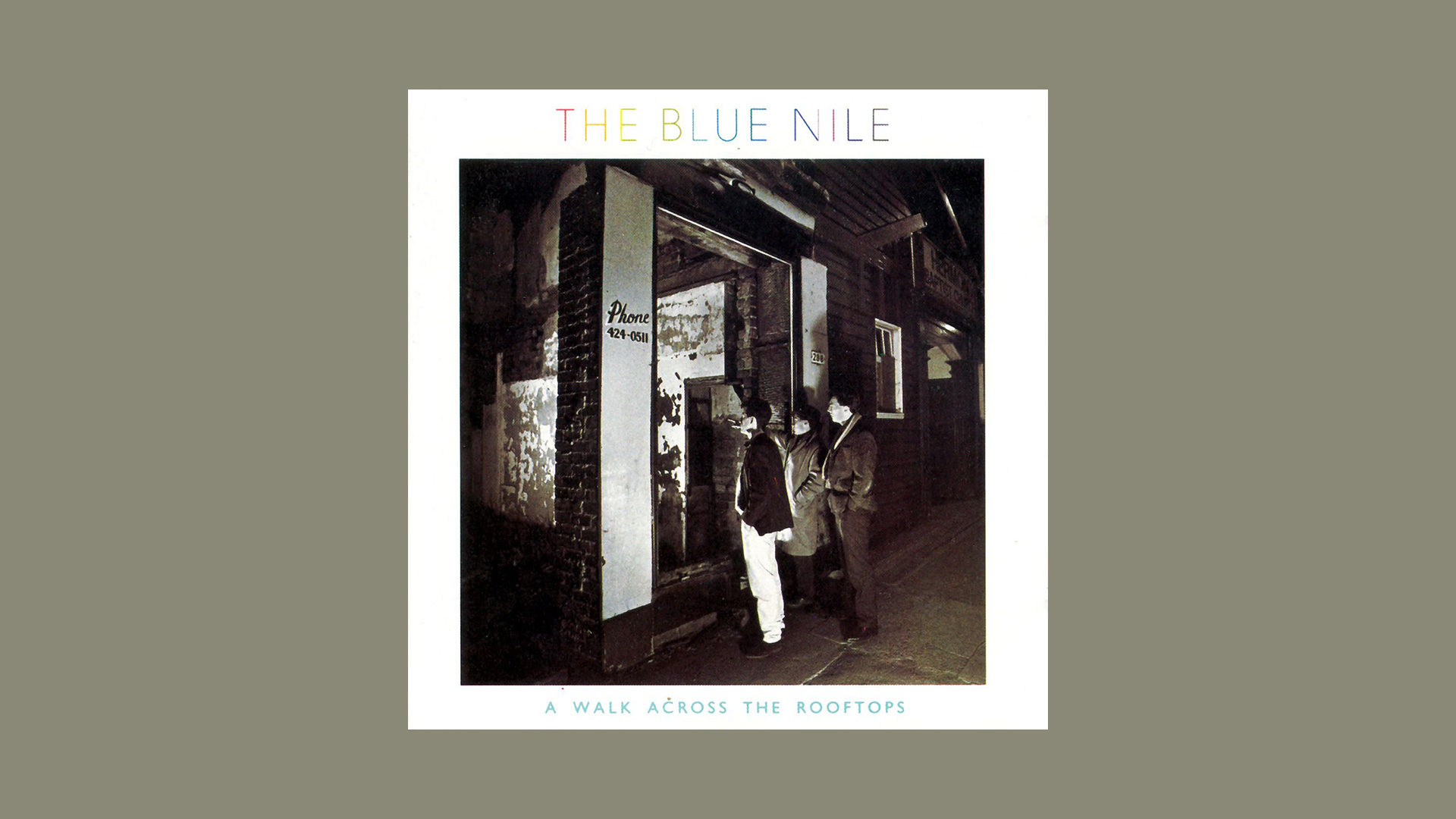 A Walk Across the Rooftops - The Blue Nile