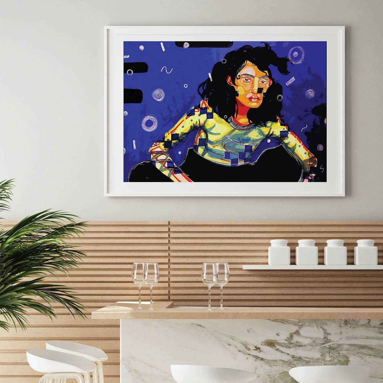 'Open Spaces' Giclée Art Print