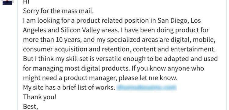Nusii Prospect Masss Email