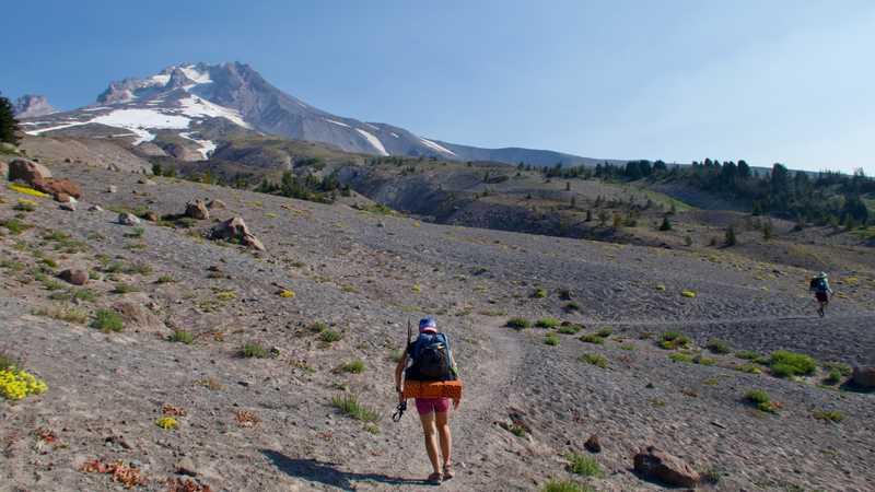Leaving Mt. Hood