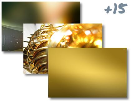 Gold theme pack