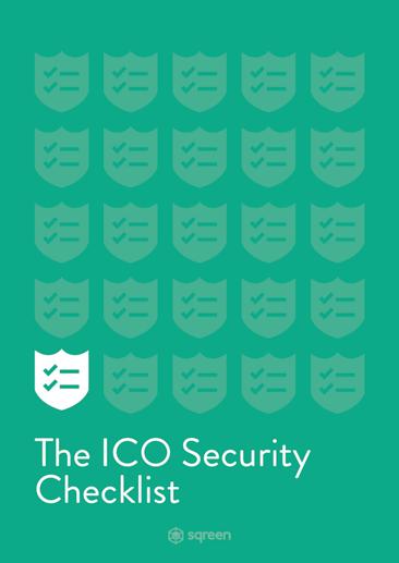 ICO Security Checklist