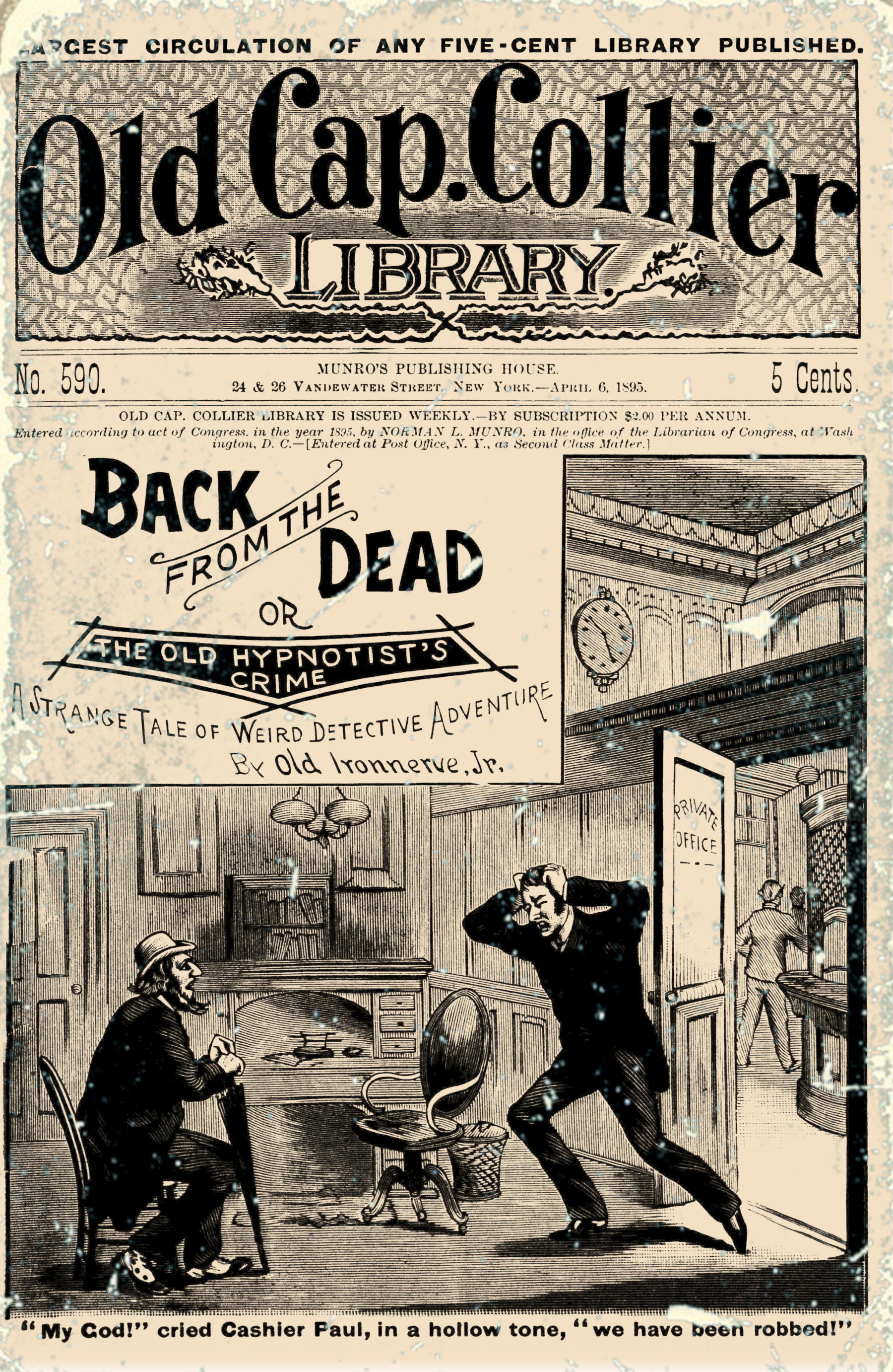 Back from the Dead by Old Ironnerve, Jr.