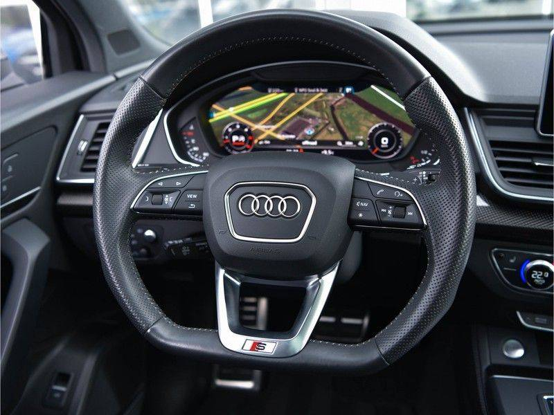Audi Q5 3.0TDI 286 pk quattro Lucht S-Line Head-Up B&O LED Pano Standk ACC Carbon 21-Inch afbeelding 11