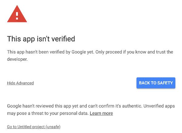 Unsafe App
