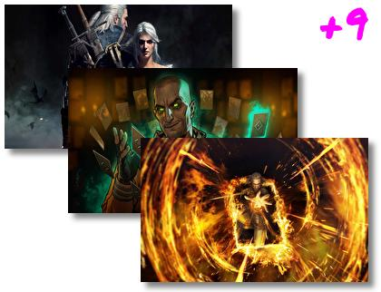 Gwent The Witcher Card Game theme pack