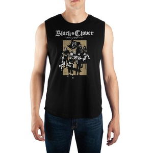 Black Clover Main Characters Graphic Top Tank