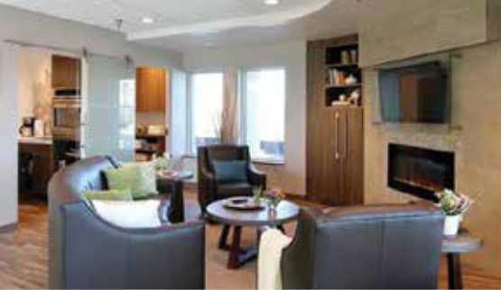 Ronald McDonald charity house living room