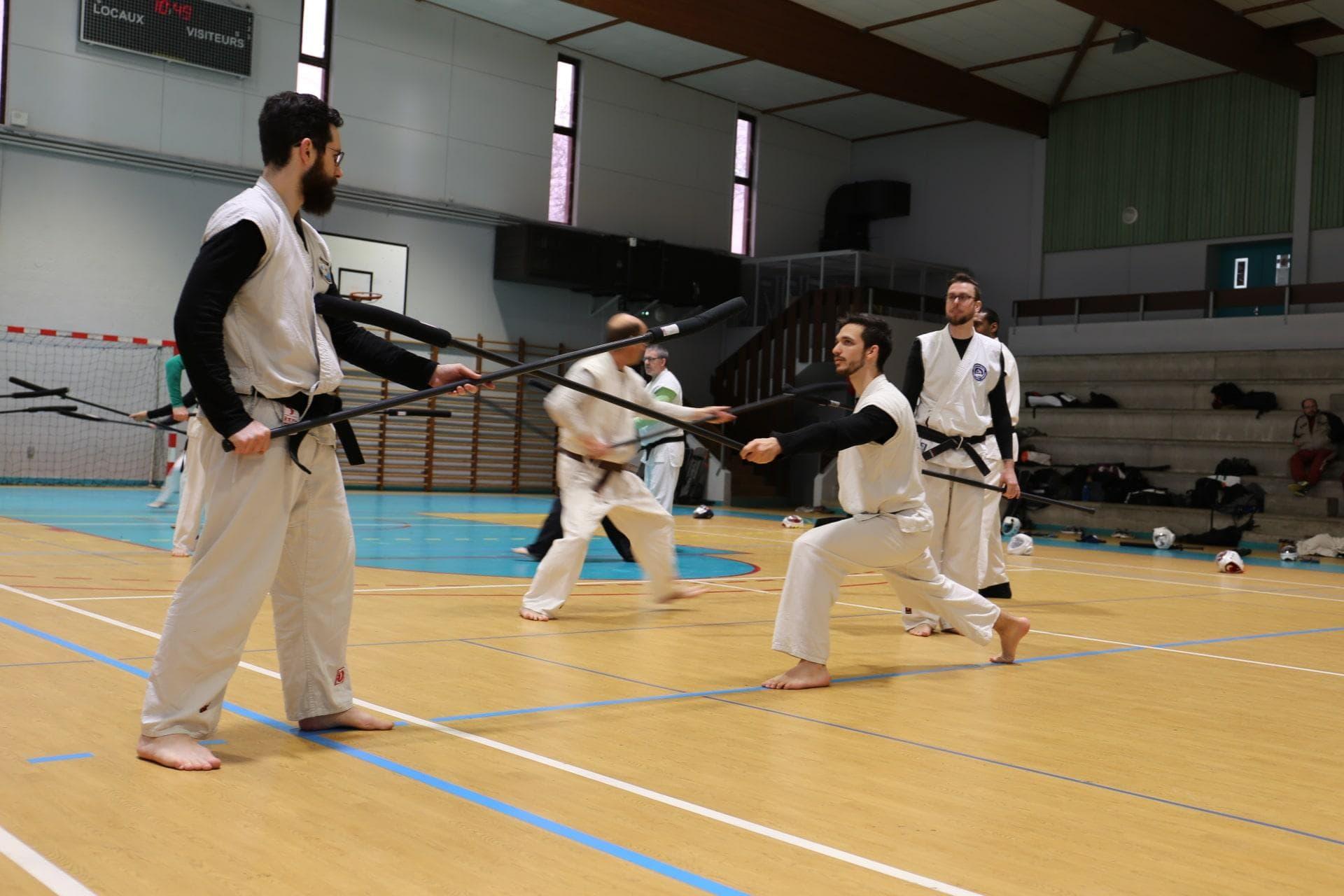 Démonstration de Chanbara combat