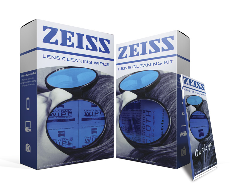 ZEISS Packaging Boxes Front