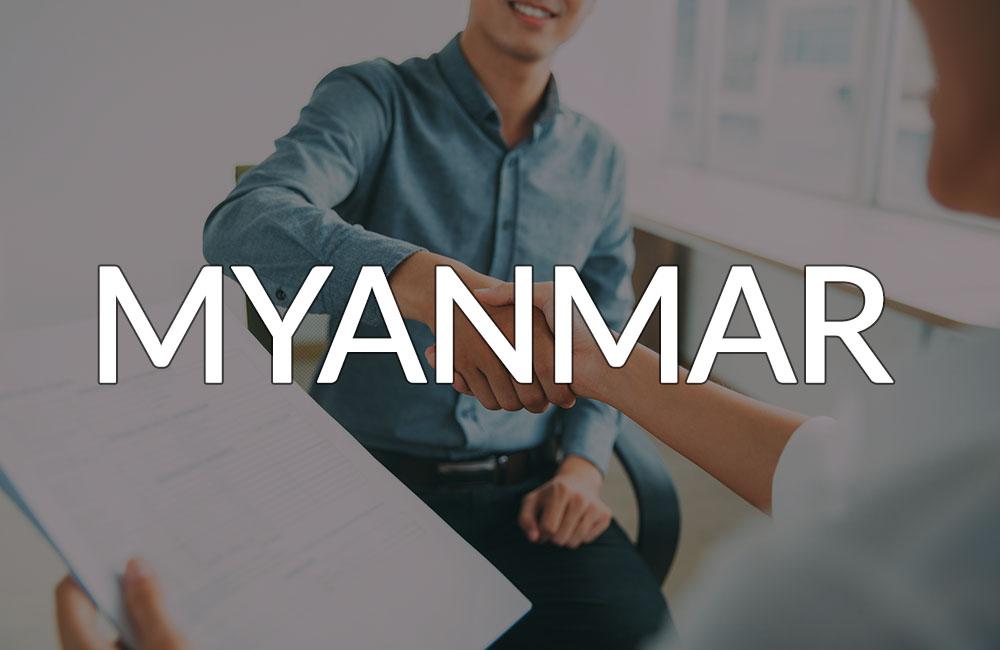 Working in Myanmar banner