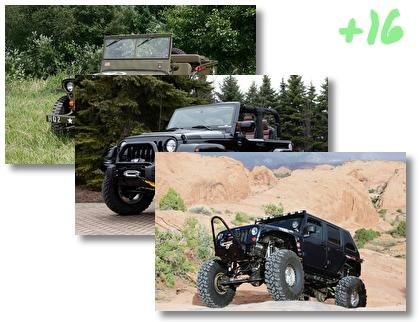 Jeep theme pack