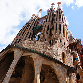 The Sagrada Família, in Barcelona, home of our Startup Circle