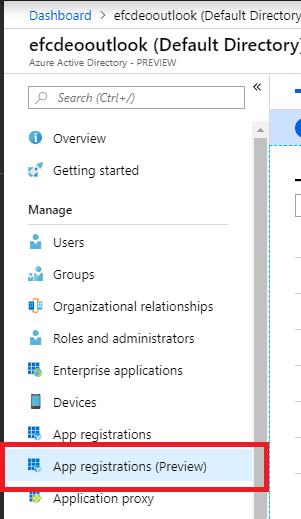 Application Registration