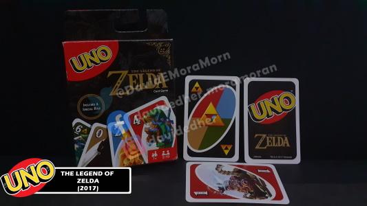 The Legend of Zelda Uno Card Game