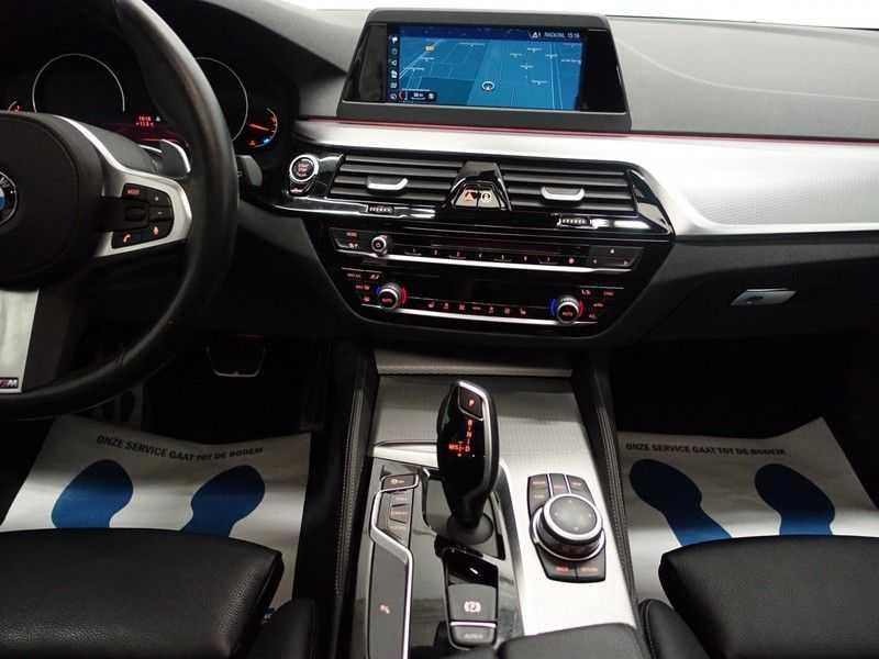 BMW 5 Serie Touring 520i High Exe 210pk M- Perfomance Powerkit- Pano, Leer, Full afbeelding 21