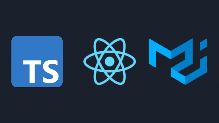 """""""Building a React app with TypeScript and Material Design"""""""