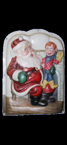 Santa and Howdy Doody photo