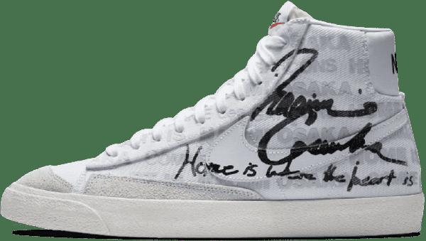 Nike x Comme Des Garçons x Naomi Osaka Blazer Mid '77 WMNS