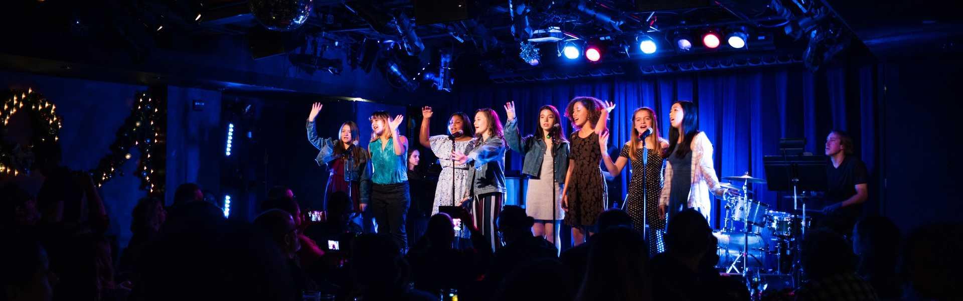 Kids performing in New York image