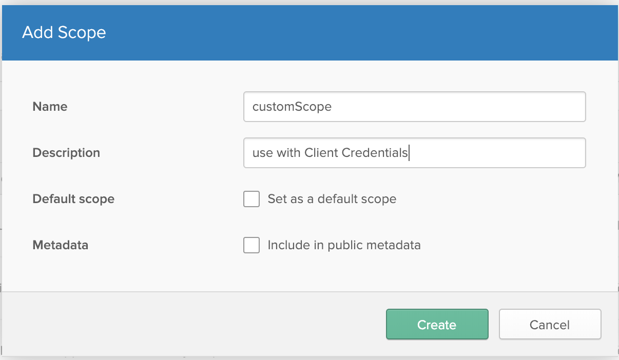 okta create scope