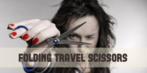 Slip-N-Snip Folding Travel Scissors scissors are ideal for traveling, for home or office use, making them versatile and useful everywhere.