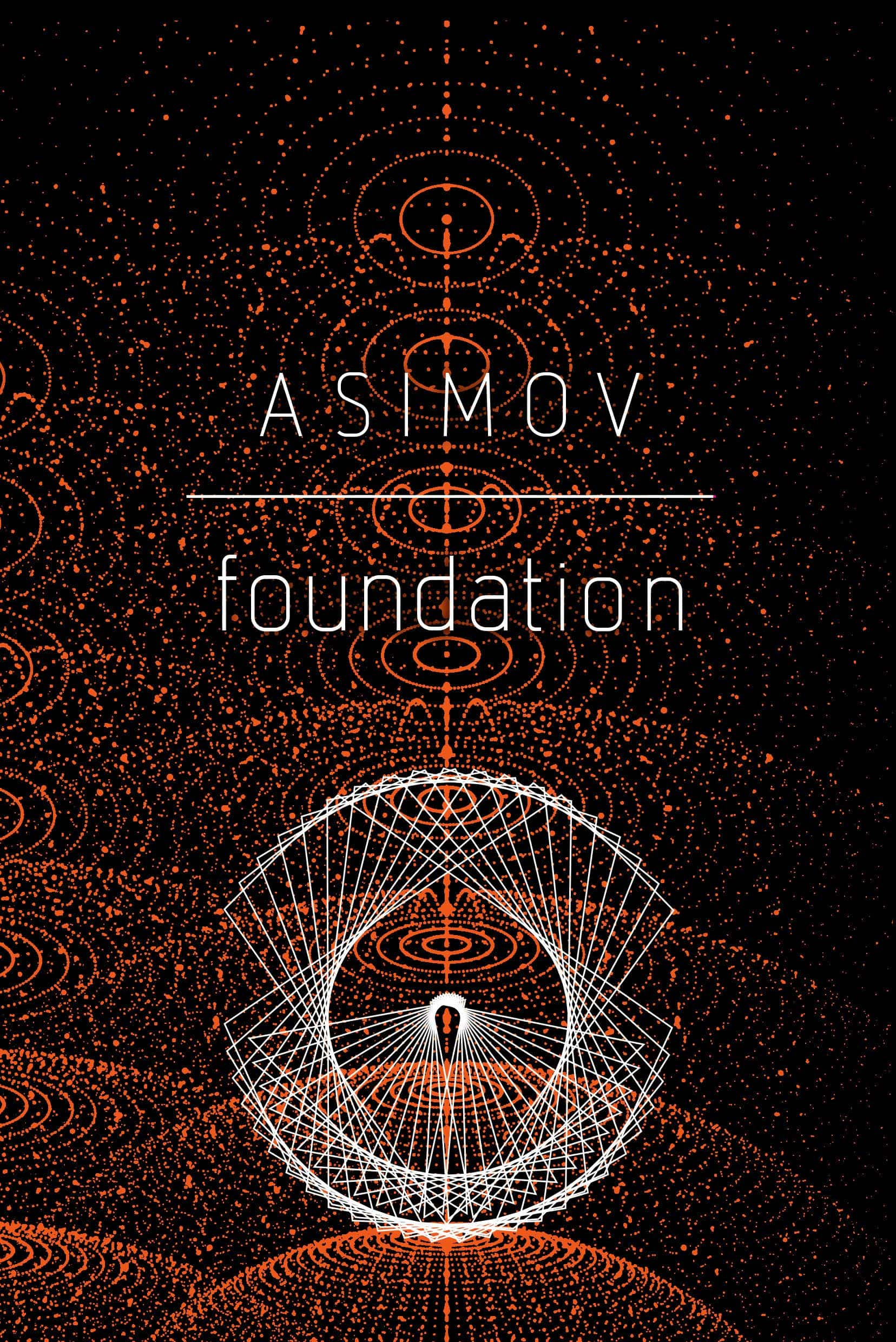The cover of The Foundation Trilogy