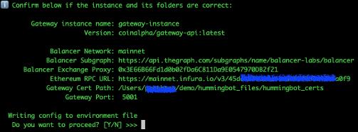 gateway summary