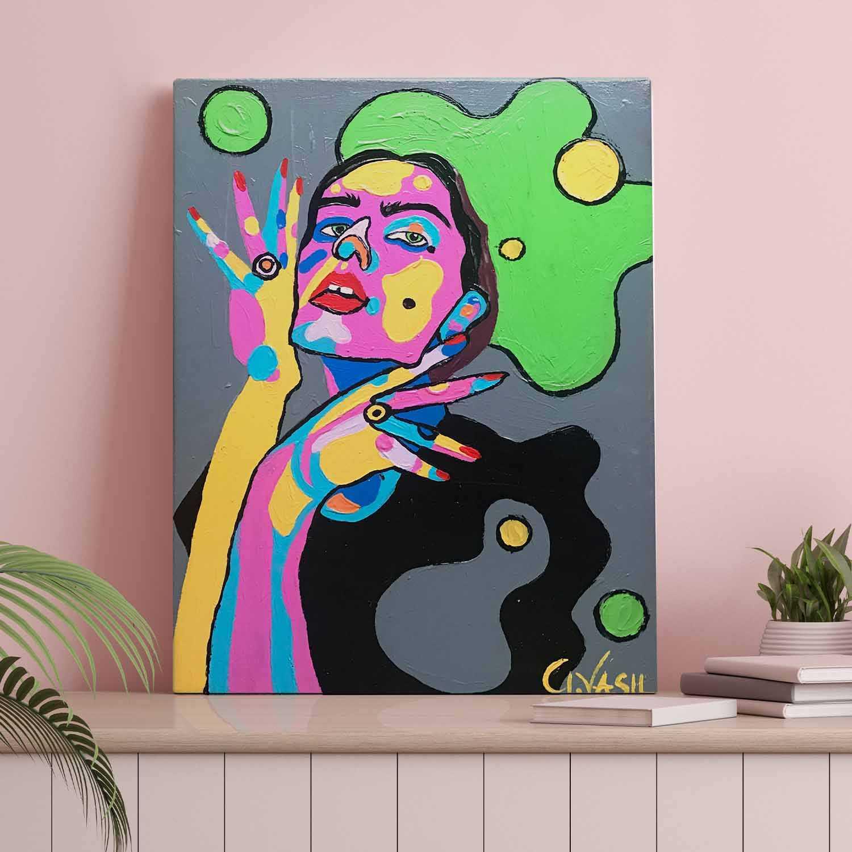 'Green Space' Original Painting