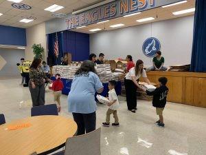 SA YES School Supply Distribution Back to Basics Project