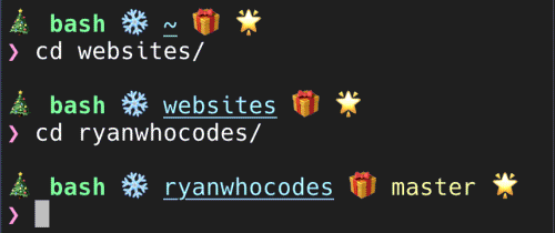How to Christmassify your terminal and Bash shell