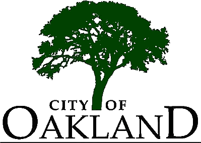 logo of City of Oakland