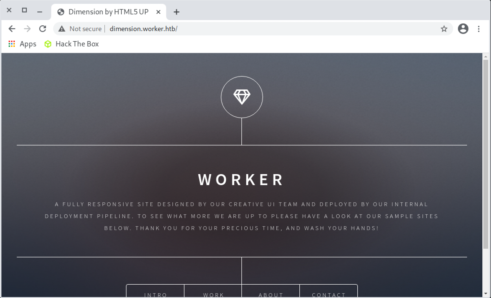Website Dimension Worker