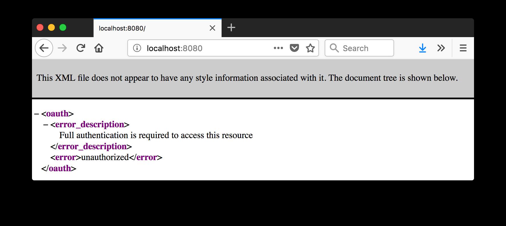 Access Denied by Okta Spring Boot Starter