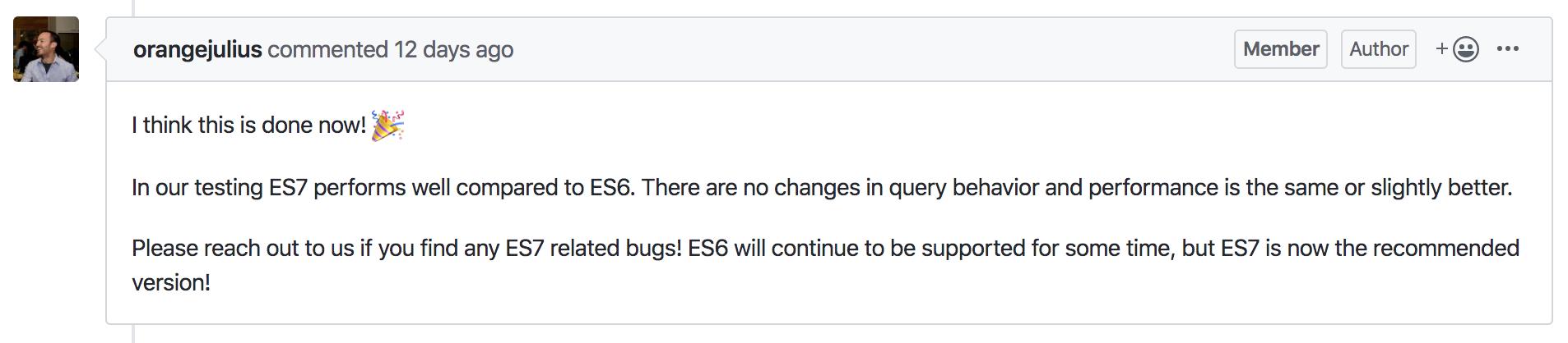 Elasticsearch 7